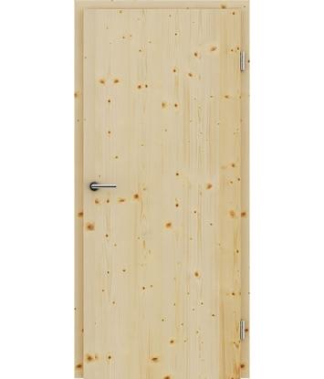 Furnierte Innentür mit längsverlaufender Struktur GREENline – Fichte astig