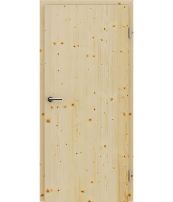 Furnirana notranja vrata s pokončno strukturo GREENline - smreka grča