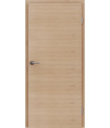 furnirana notranja vrata s kombinirano pokončno in prečno strukturo VIVACEline - F4 hrast evropski belo oljen
