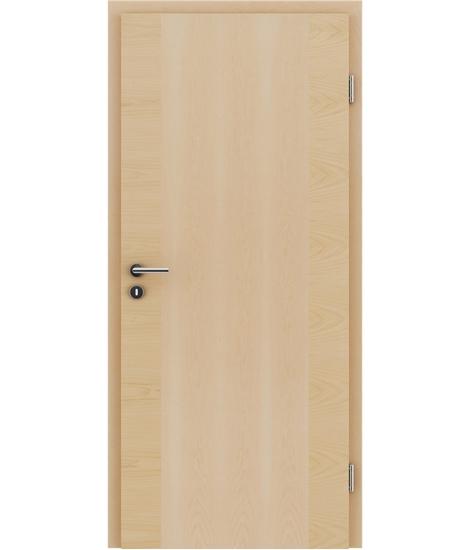 Furnierte Innentür mit einer Kombination aus längs- und/oder querverlaufenden Strukturen VIVACEline – F14 Ahorn