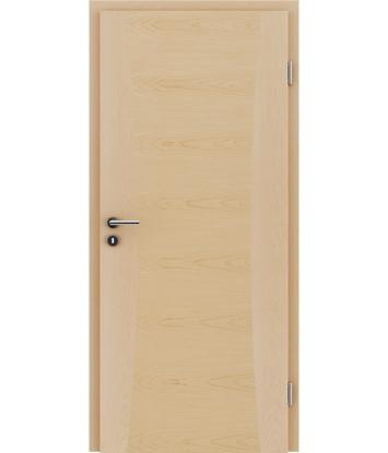 Furnierte Innentür mit Intarsieneinlagen HIGHline – I13 Ahorn