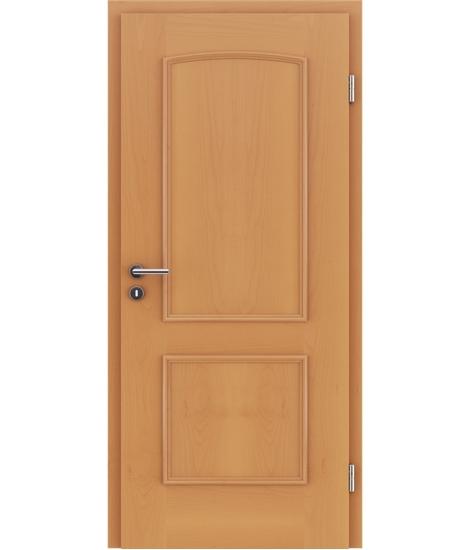 Furnierte Innentür mit dekorativen Leisten STILline – SOA Buche
