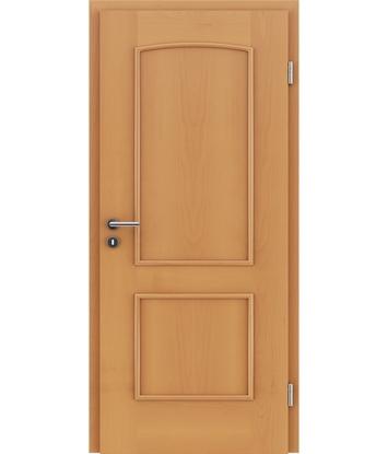 Furnierte Innentür mit dekorativen Leisten STILline – SOAD Buche