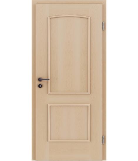 Furnierte Innentür mit dekorativen Leisten STILline – SOAD Ahorn