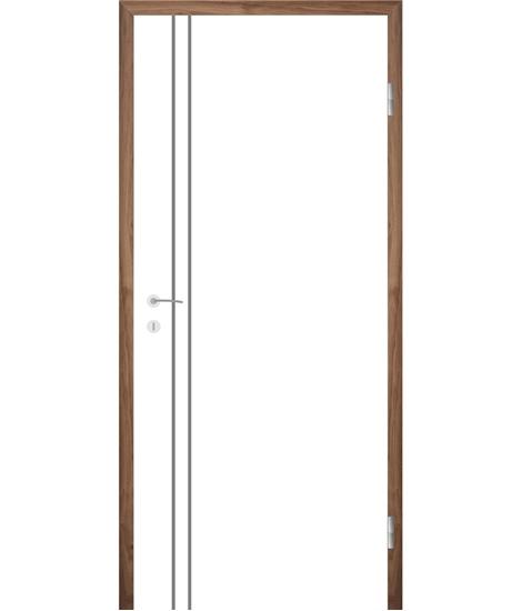 Weißlackierte Innentür COLORline – EASY R28L