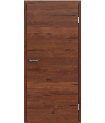 Picture of Furnierte Innentür mit einer Kombination aus längs- und/oder querverlaufenden Strukturen VIVACEline PRESTIGE - F4 Altholz matt lackiert